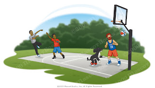 Danny Moore Illustration Bo Obama BBall