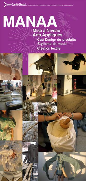 Caa Design de produits : design de mode et recherche textile