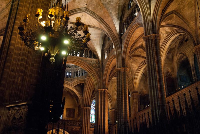Jmdaza fotoblog interior de la catedral de barcelona for Catedral de barcelona interior