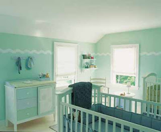 Boy Nursery Ideas Minty Fresh Baby Nursery Decorating Idea. Each piece of furniture