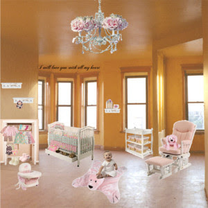 Girls Nursery Baby girls nursery by Kailey:)) &requests open. 7 people