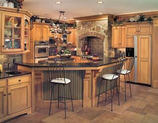 Stone Kitchen Glazed