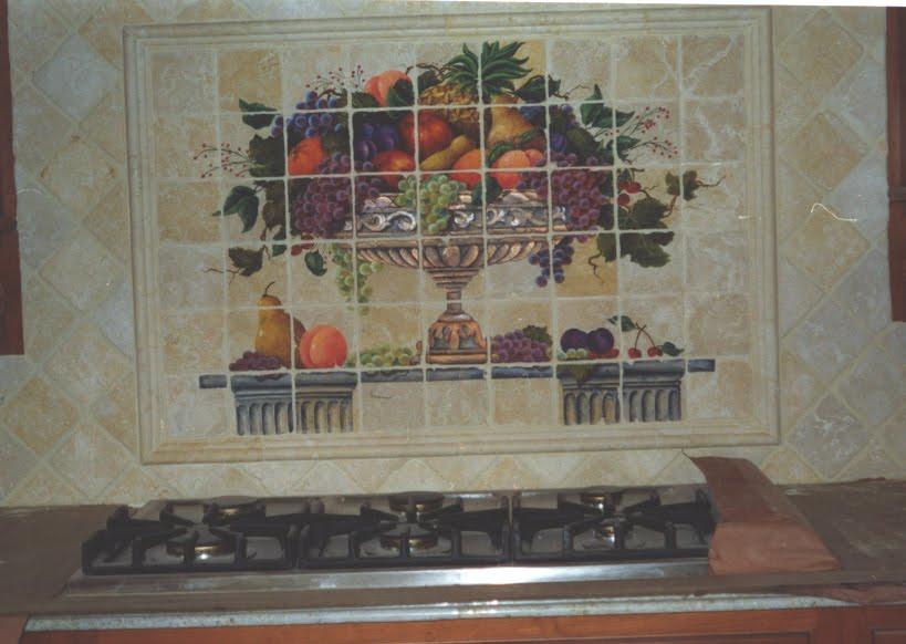 kitchen backsplash murals