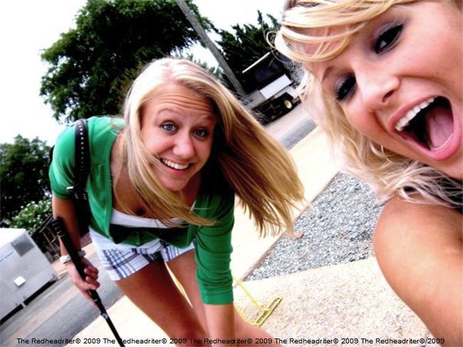 Alyssa and Claire