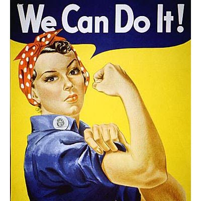 Woman - We can do it!