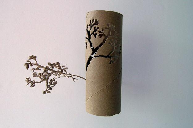 Yuken Teruya toilet paper roll art