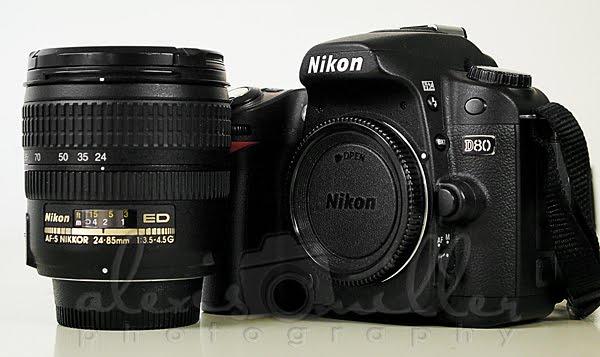 Nikon D80 Camera Giveaway