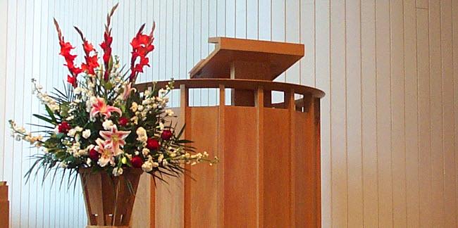 A pulpit