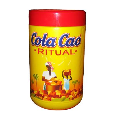 un bote de ColaCao con el rótulo de la palabra ritual