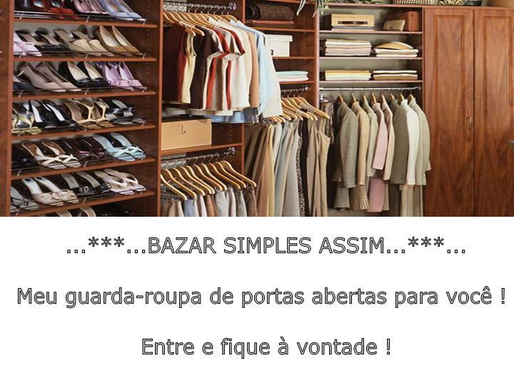BAZAR SIMPLES ASSIM
