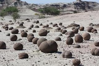 Algunos decían que eran cacas de dinosaurio, otros huevos de gramdes mamíferos (entienda quien entienda)
