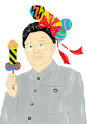 Humor Chic SocietyKim Jongil, A Nuclear Dictator (kim jong il humor chic by alexsandro palombo)