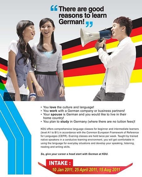 how to study in german university