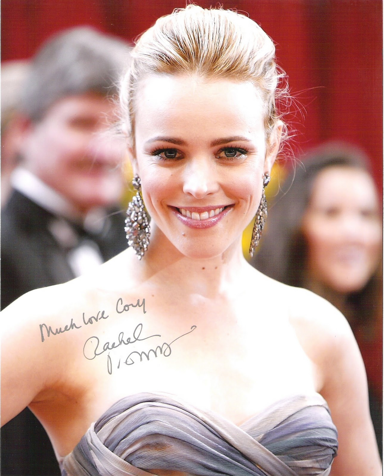 Cjs World The Autographs Rachel Mcadams Mean Girls Sherlock