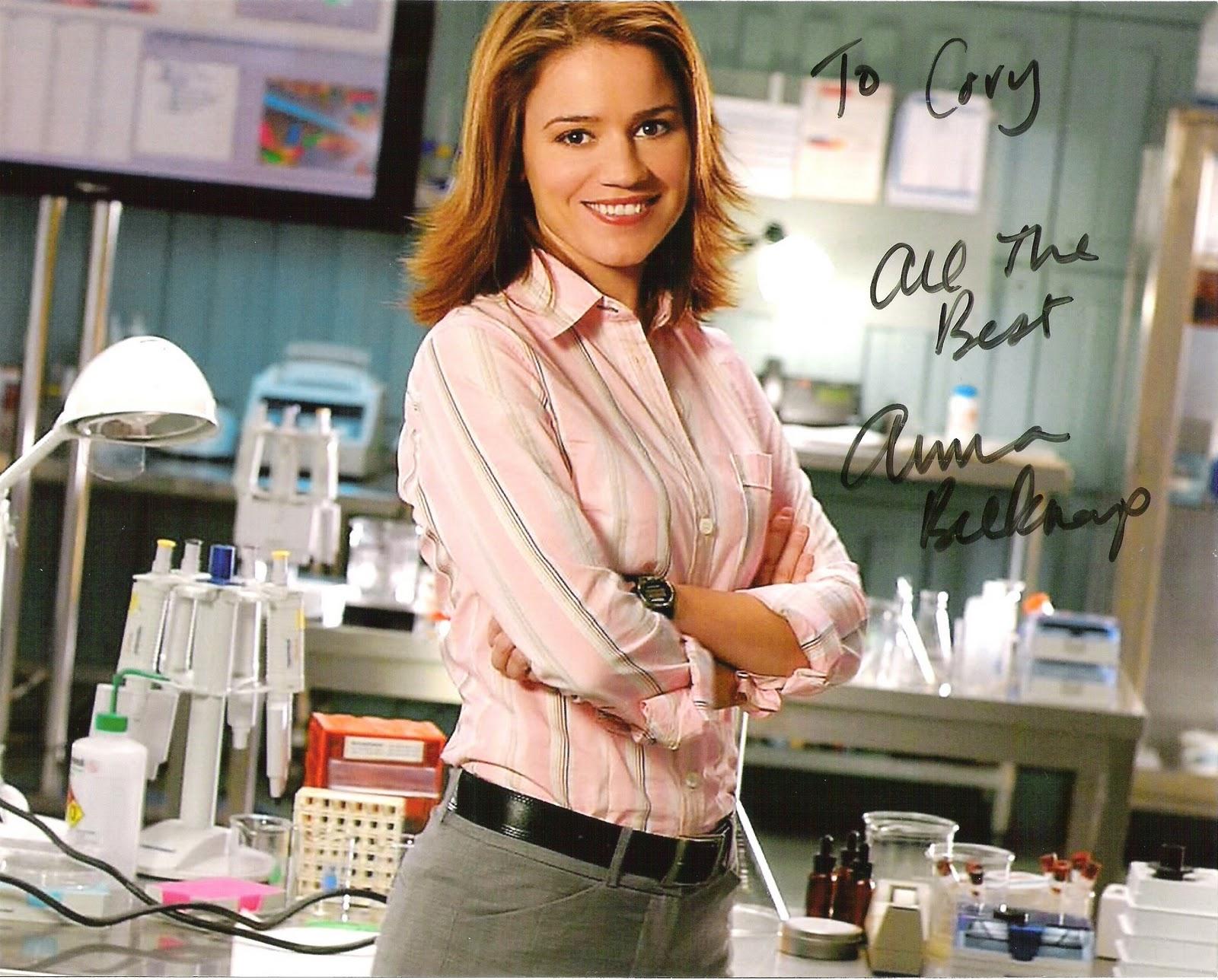 Anna Belknap  CSI NY