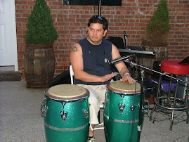 Playing Congas At  Brooklyn College