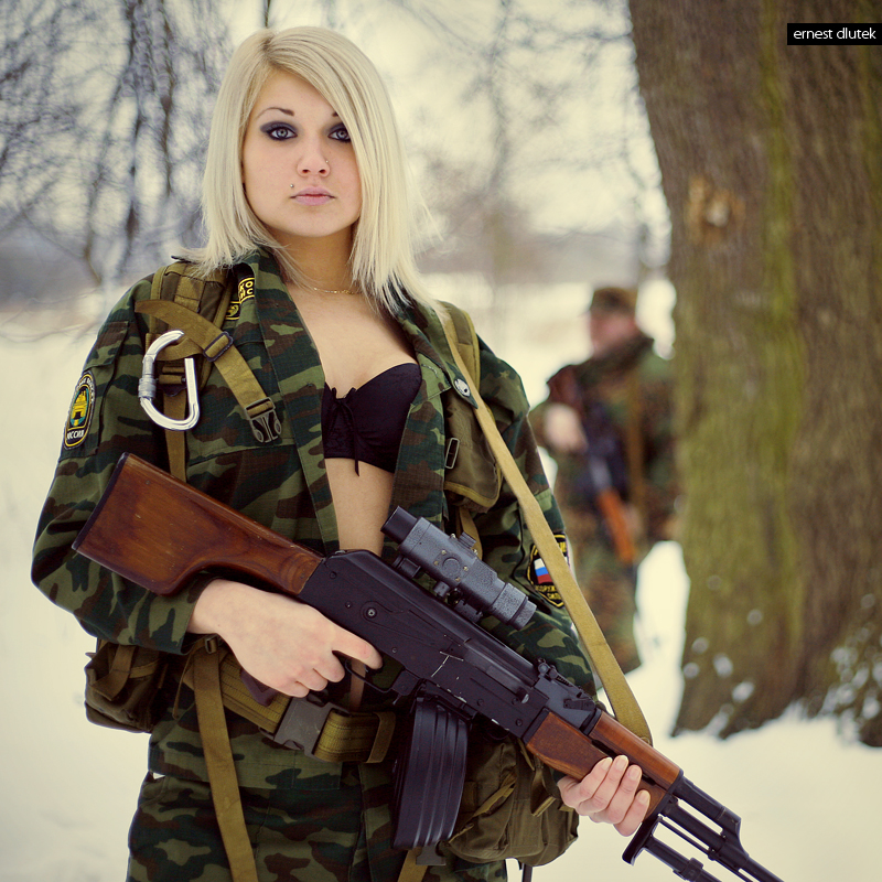 women females weapons - photo #25