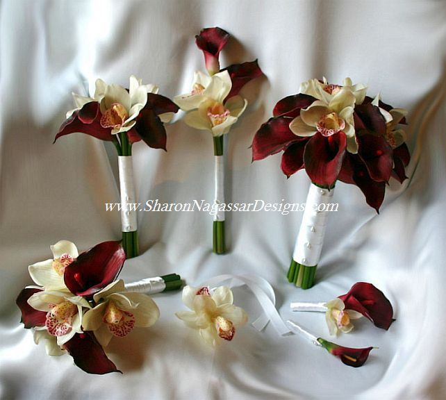 Burgundy Flowers For Weddings Monday November 16 2009