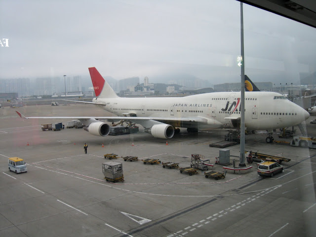 JA8921 as JL736 at HKG on 2009-12-31.  Probably my last JAL 744 flight
