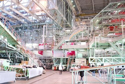 JAL preparing for the new JAL Samantha Thavasa Jet!