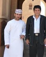 مع كريم العراقي في حصن جبرين
