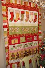 Sherrie's Christmas Quilt