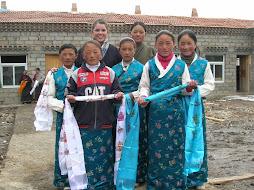Geneva with SGH Girls in Tibet