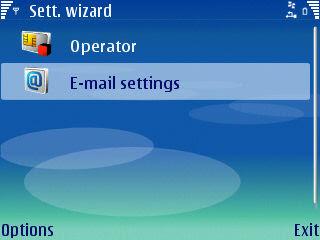 settings wizard