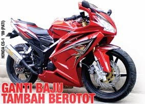 Modification Body Honda CS 1