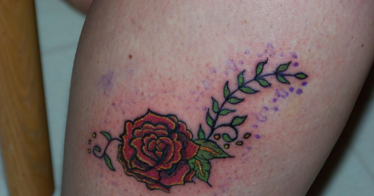 patchwork porridge rose and vine tattoo. Black Bedroom Furniture Sets. Home Design Ideas