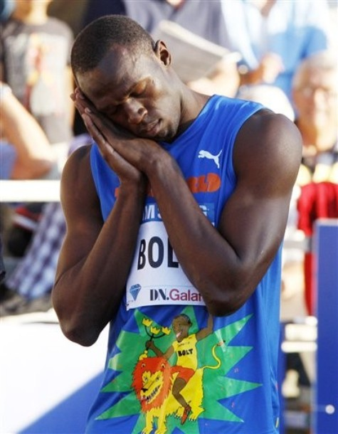 All good things have to be brief and now we have another ? Tyson Gay beating ...