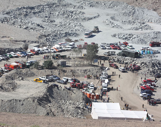 the chilean copper mine collapse The rescue of the 33 miners trapped in a chilean mine in 2010 became a  5 a  cave-in at the cash-strapped san josé gold and copper mine.