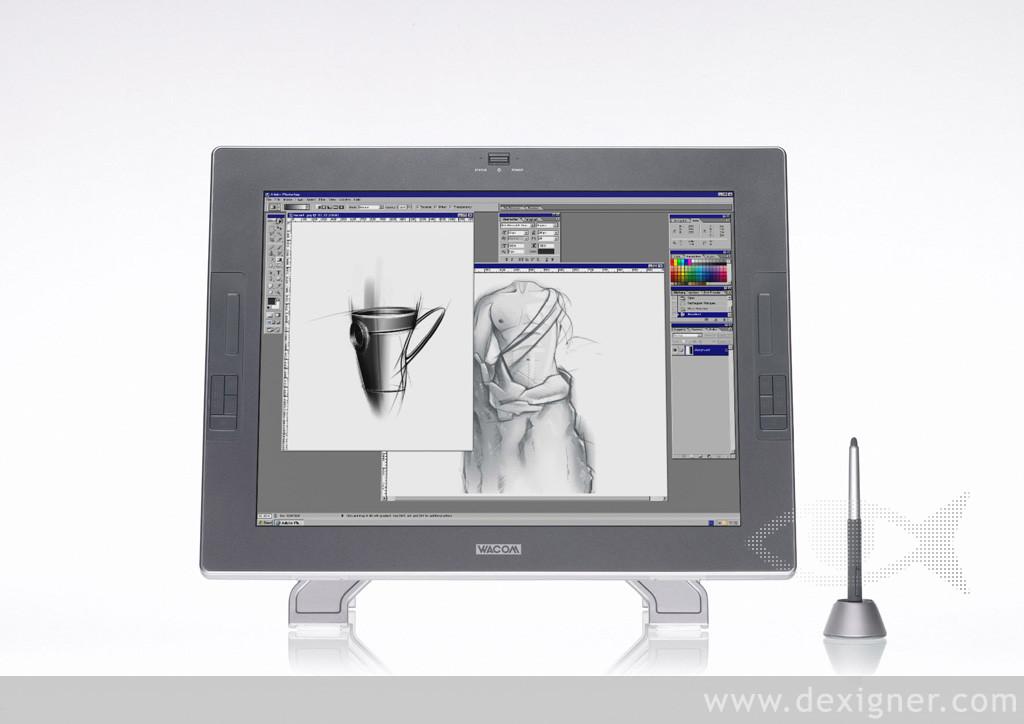 wacom cintiq 21 ux a interactive pen tablet techno gadgets. Black Bedroom Furniture Sets. Home Design Ideas