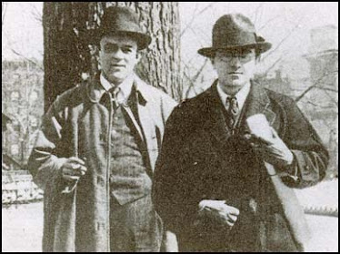 John Reed and Boardman Robinson, 1913