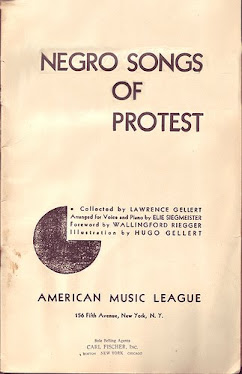 'Negro Songs of Protest'