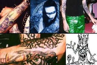 los tatuajes de marilyn manson y nuevo tatuaje!!!