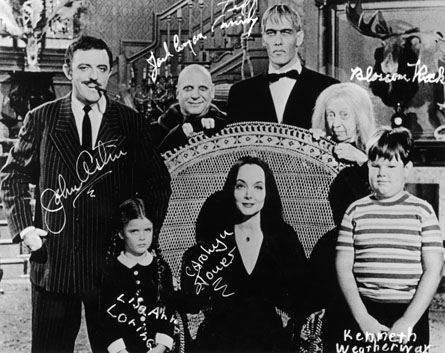 Addams family influences