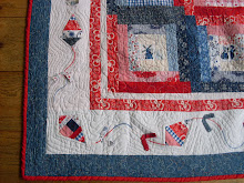 Delftsblauwe quilt