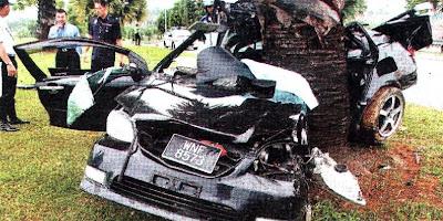 Car Tree Crash