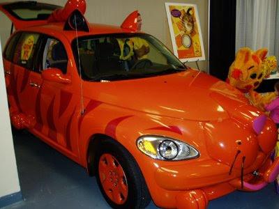 Super Halloween car