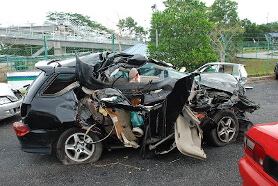 Crash Toyota Harrier