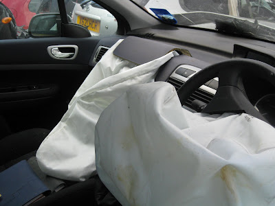 Fired Airbag