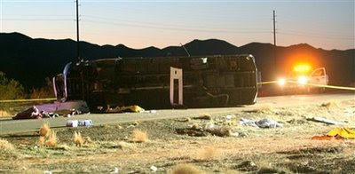hoover dam bus crash