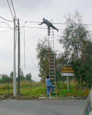 Weird Ladder
