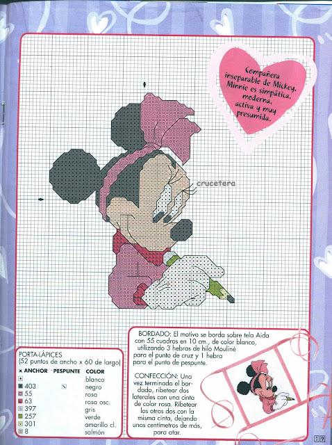 Disney Para personalizar Lo Que Te Se ocurra Bordando A Punto De Cruz