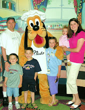 Kenn, Jolene, Alexa, Jacob, Luke, and Molly Johnson (and Pluto)