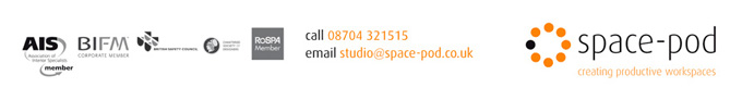 space-pod : creating productive commercial interior workspaces