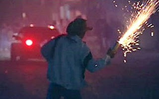 Perigos com fogos de artifício