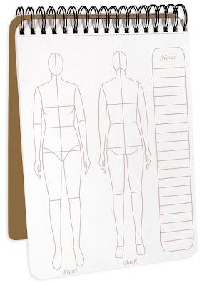 fashion flat sketchpad