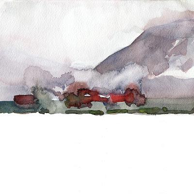 Annecy, aquarelle, géolocalisation, Haute-Savoie, lac d'Annecy, landscape, on the spot, paysage, sur le motif, watercolor